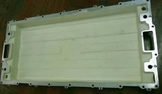 聚氨酯发泡成型的电池舱